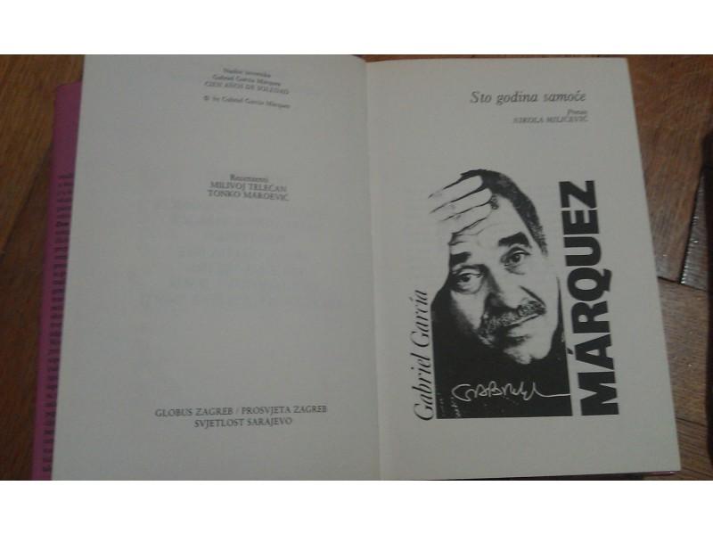 STO GODINA SAMOĆE - Gabriel Garcia Marquez