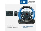 STR-SHOCKFORCE-3in1 Gembird USB 2.0 volan za igrice PS2/3+USB