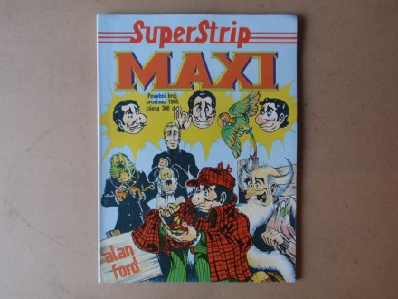 SUPERSTRIP MAXI - Posebni broj prosinac 1986