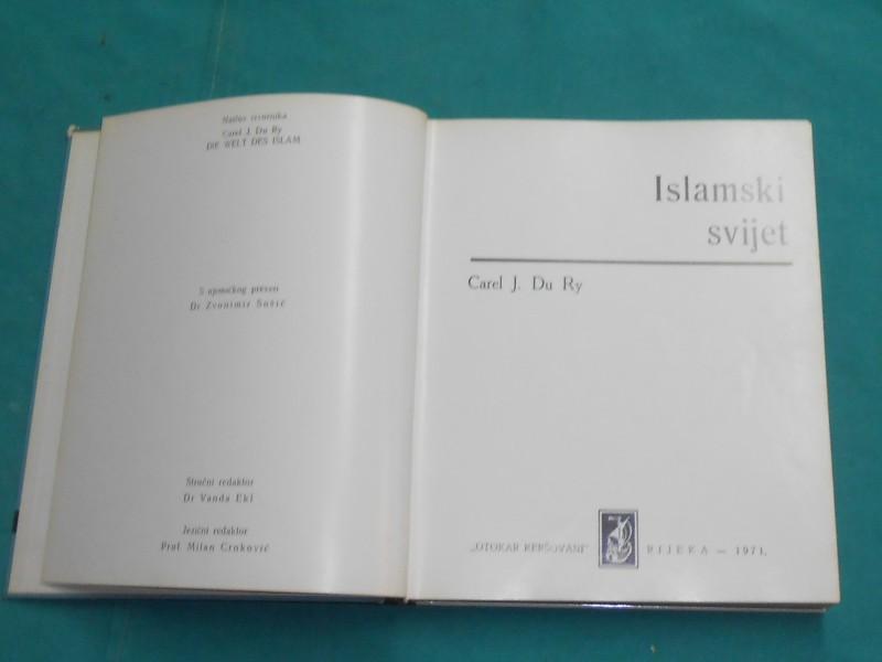 SVIJET ISLAMA-UMJETNOST U SLICI-CAREL J. DU RY-/K-31/
