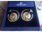 SWAROVSKI NEO SMALL PIERCED EARRINGS original