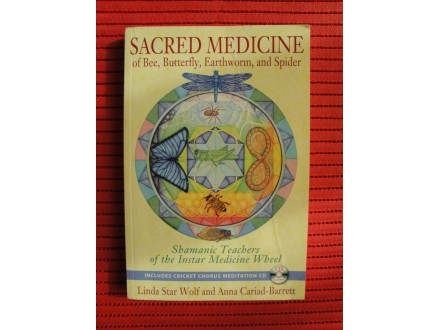Sacred Medicine of Bee, Butterfly,Earthworm, and Spider
