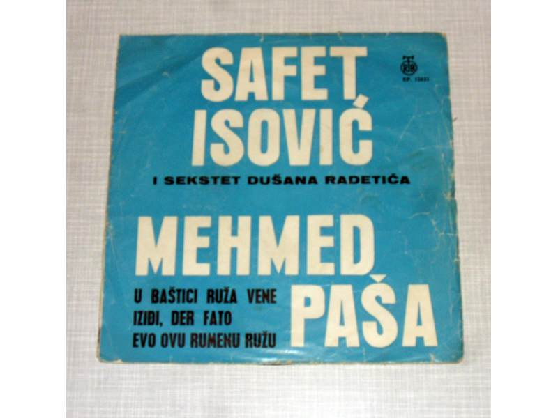 Safet Isović - Mehmed Paša