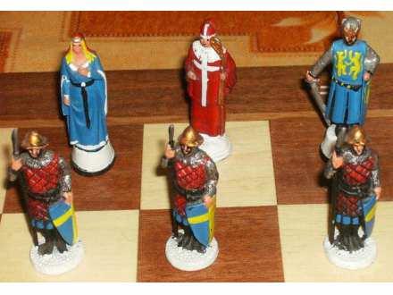 Sah unikat sa figuricama od kalaja odbrana Jerusalima