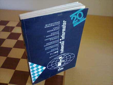 Sahovski informator TOM 40  iz 1985 god.
