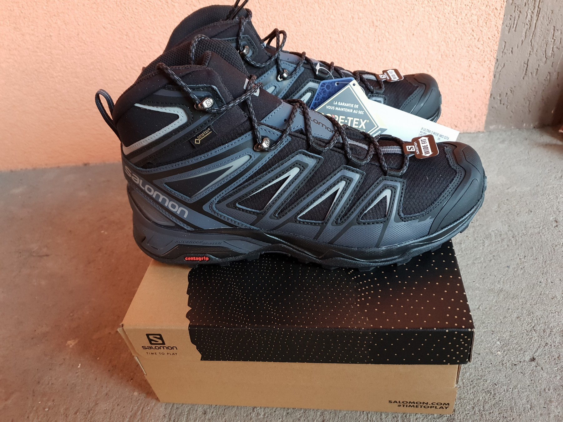 official photos 74a01 b883c Salomon cipele x ultra 3 wide mid gtx - novo - Kupindo.com ...
