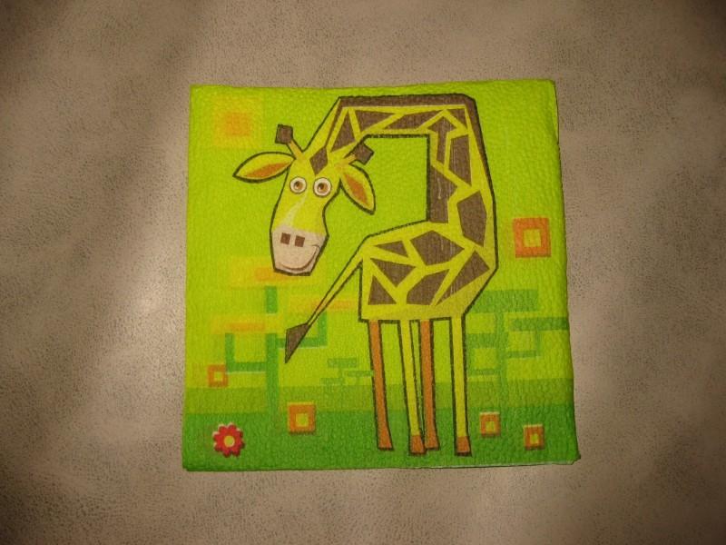 Salveta žirafica