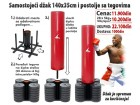 Samostojeći džak za boks, 140kg postolje