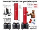Samostojeći džak za boks sa postoljem za 140kg diskova