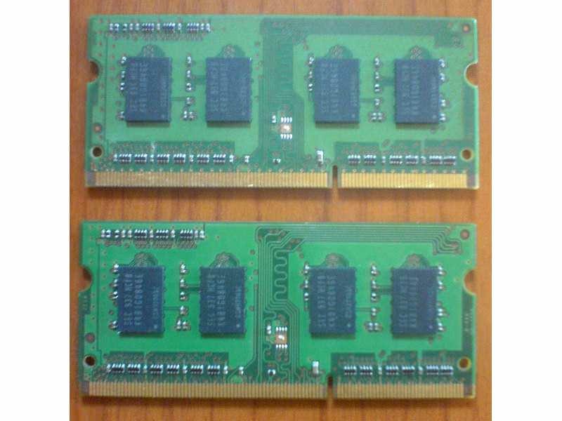Samsung DDR3 2x1GB kit SODIMM memorije + GARANCIJA!