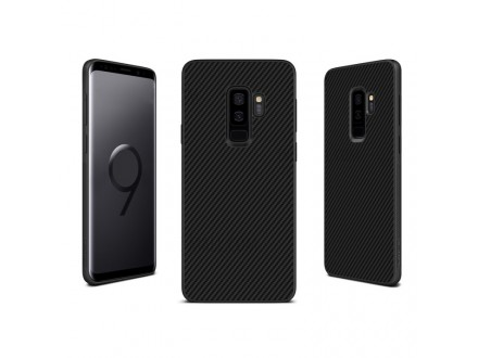 Samsung G965 Galaxy S9 Plus - MASKA Nillkin Synthetic Fiber crna
