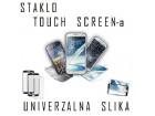 Samsung N7100 Galaxy Note 2 - STAKLO za touch screen belo