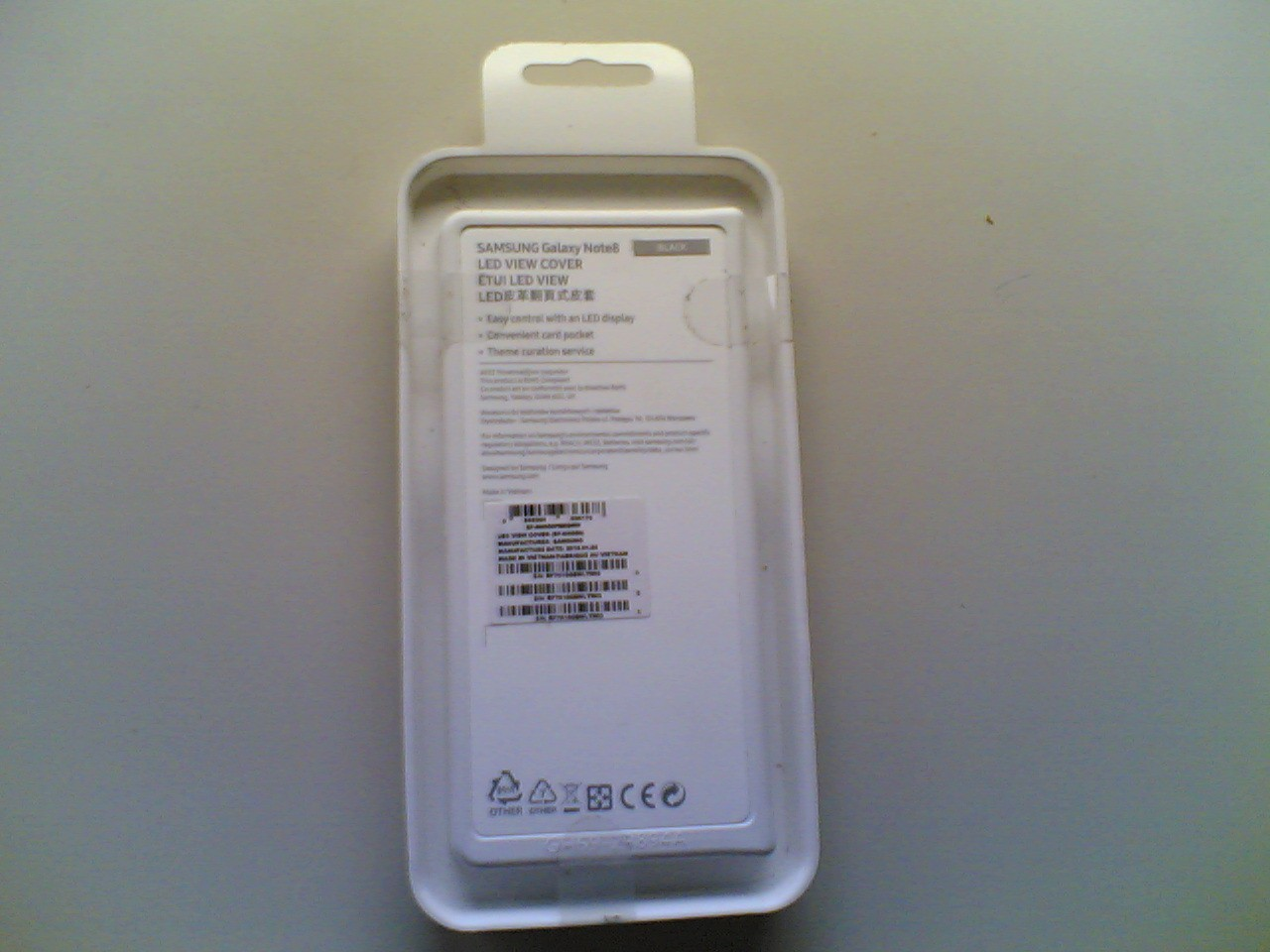 Samsung Note 8 Led View Cover Original 50748601 Carcasa Case Galaxy Nueva S 200