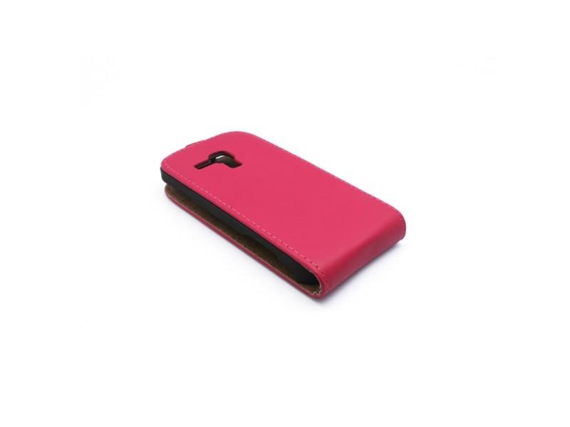 Samsung S7562 Galaxy S Duos/S7560 Galaxy Trend/S7580 Galaxy Trend Plus/S7582 Galaxy S Duos 2 Trend - MASKA Teracell flip top pink