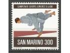 San Marino,EP u džudou za juniore 1981.,čisto