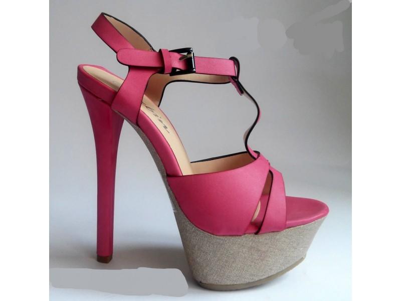 Sandale 21 NOVO - roze i plave