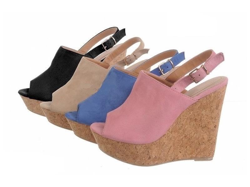 Sandale 5 NOVO - bez, roze, crne i plave