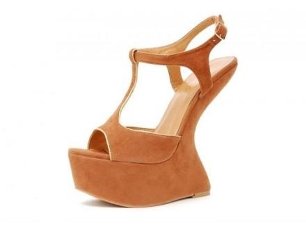 Sandale 7 NOVO - oker