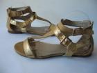 Sandale  zlatne br. 39