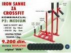 Sanke za crossfit male sa kombinacijom tegova od 52kg