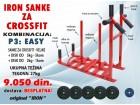 Sanke za crossfit velike sa kombinacijom tegova od 27kg