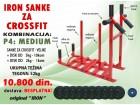 Sanke za crossfit velike sa kombinacijom tegova od 52kg