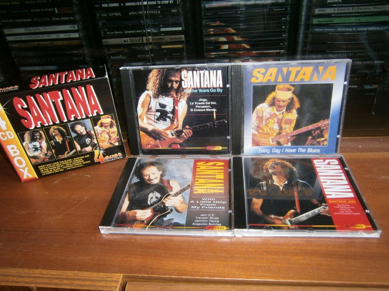 Santana - Santana Jam Box set 4 CD