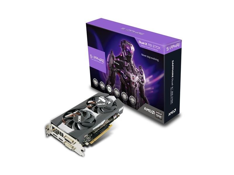Sapphire DualX 270X 2GB OC with Boost