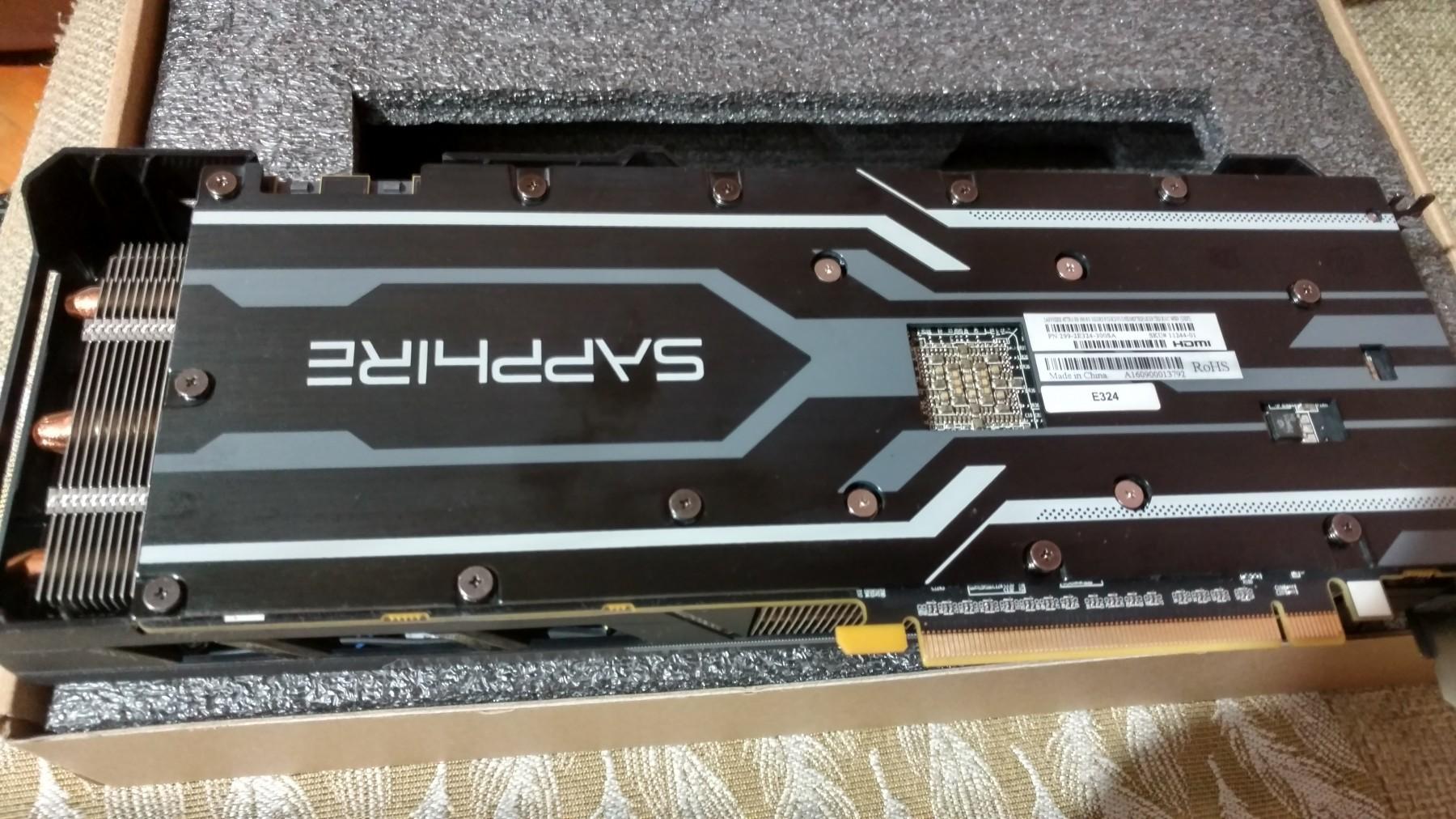 Sapphire NITRO R9 390 8gb DDR5 512 bita - Kupindo com (51393901)