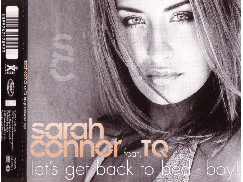 Sarah Connor, TQ - Let`s Get Back To Bed - Boy!