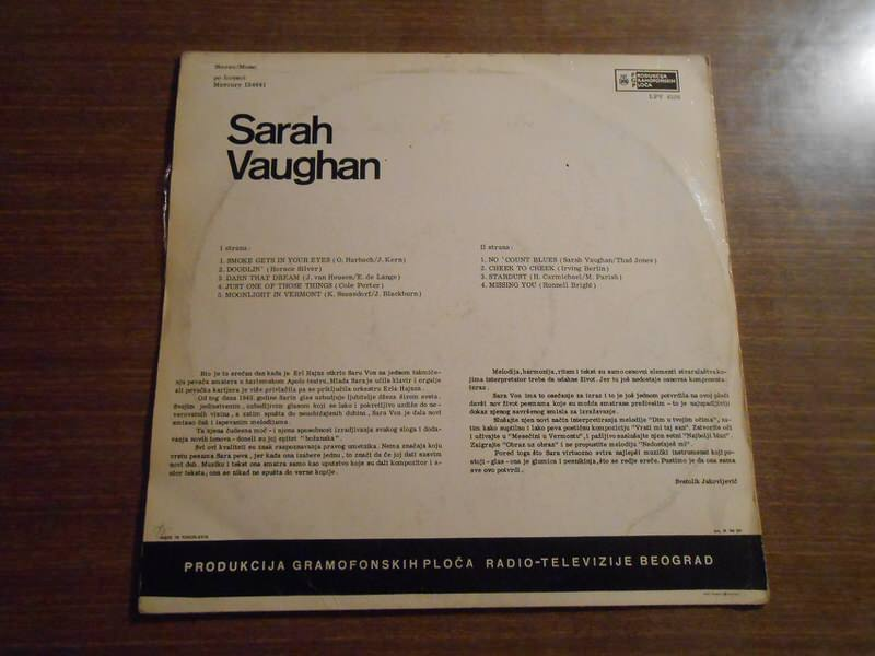 Sarah Vaughan - No Count Sarah