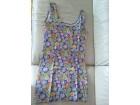 Šarena pamučna haljina na bretele