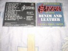 Saxon ‎– Denim And Leather CD Remaster sa 3 bonusa
