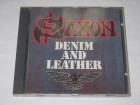 Saxon ‎– Denim And Leather (CD)
