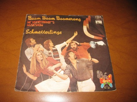 Schmetterlinge - Boom Boom Boomerang