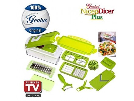 Secko Premium Fruit Vegetable Slicer Nicer Dicer Plus