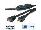 Secomp Roline HDMI High Speed Cable M - M with Repeater 30.0m