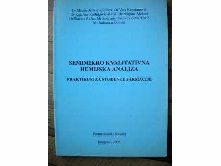 Semimikro kvalitativna hemijska analiza