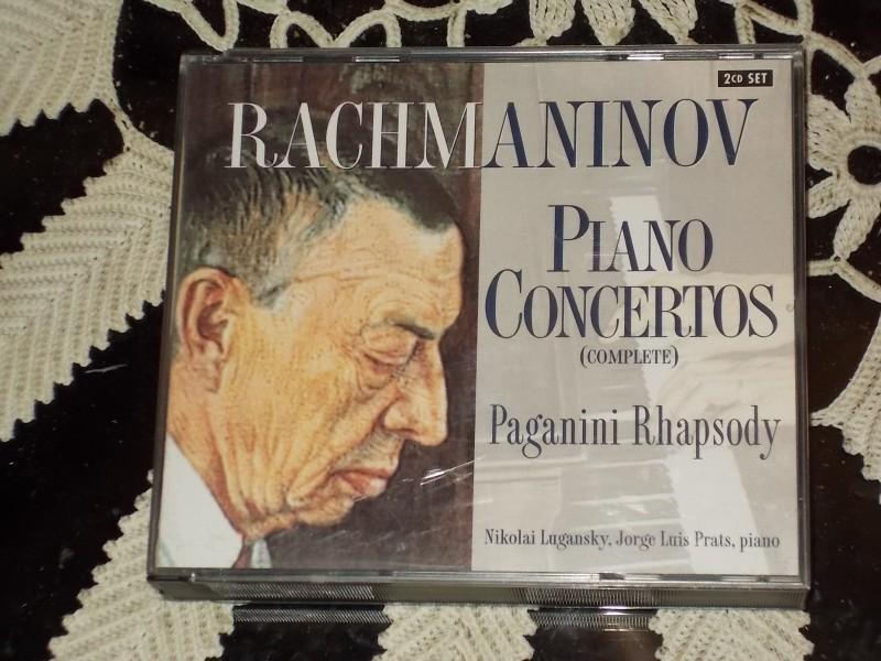Sergey Rachmaninov,Nikolai Lugansky,Jorge Luis Prtas,piano - Piano Concertos (Complete) 2cd Set