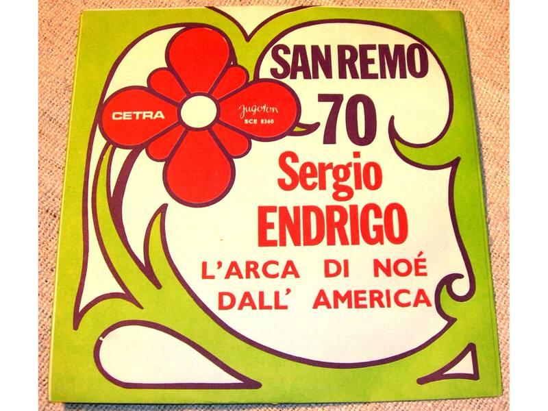 Sergio Endrigo - L`Arca Di Noé/Dall` America