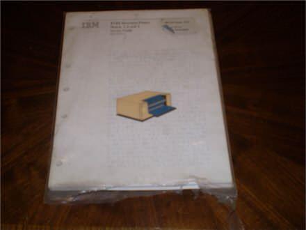 Servisno uputstvo za stari IBM stampac