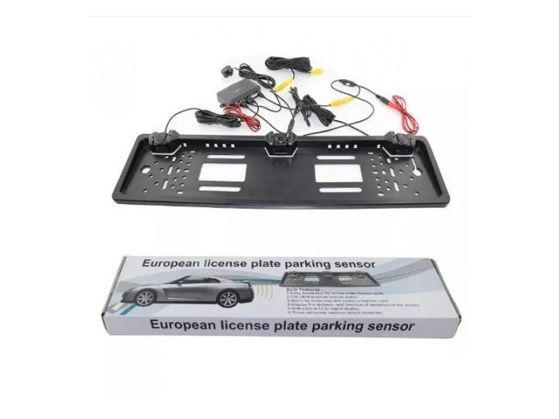 Set Auto monitor, rikverc kamera i parking senzori PZ60