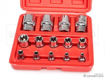 Set ključeva gedora TORX E4-24