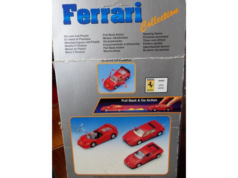 Set od 3 Ferrari automobila - WELLY