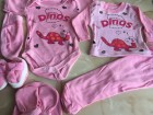 Set za bebe 7u1, za iznosenje bebe,Roze NOVO