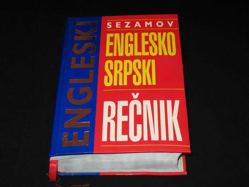 Sezamov englesko-srpski rečnik