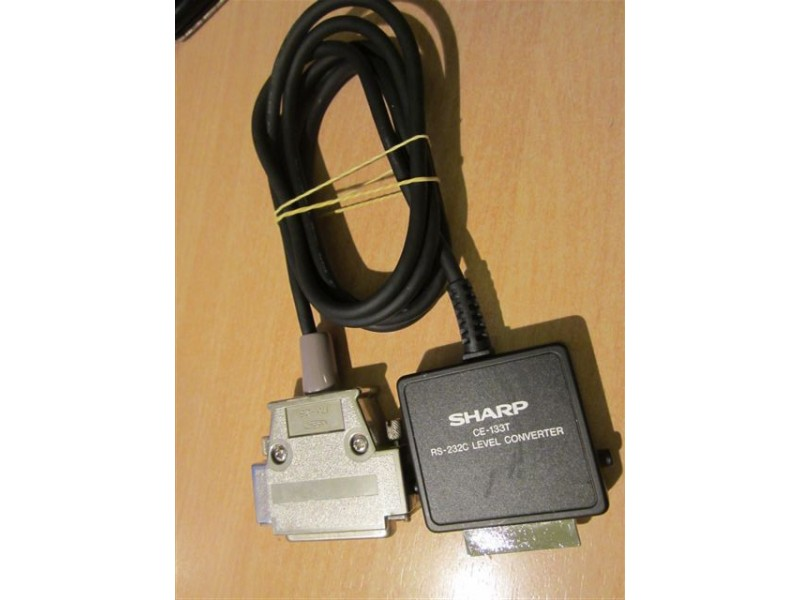 Sharp CE-133T to RS-232C kabl