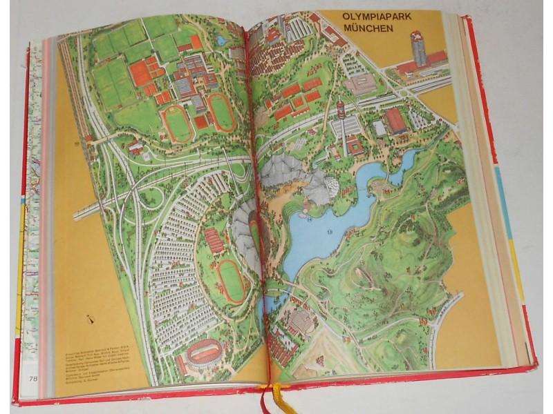 Shell Atlas Deutschland-Atlas Nemačka i Evropa 1972/73