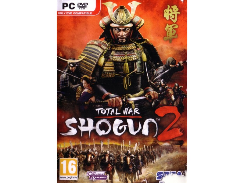 Shogun 2 Total War 3XDVD