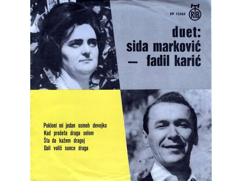 Sida Marković, Fadil Karić - Pokloni Mi Jedan Osmeh Devojko